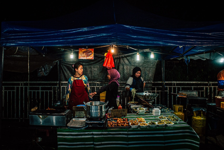 halal street restaurants in malaysia and thailand for a muslim traveler