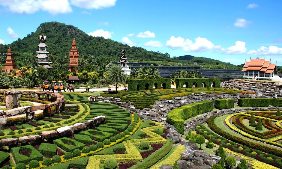 stunning botanical gardens of nong nooch in thailand