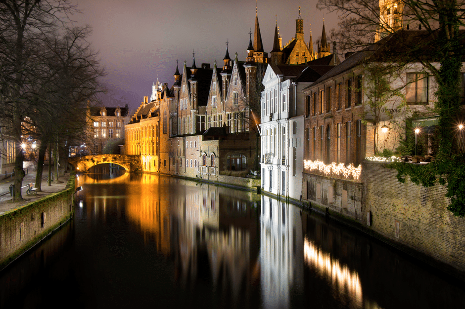 halal food and hotels in bruges belgium europe