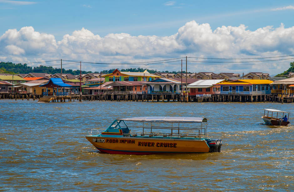 Kampong Ayer Tourist Site in Brunei