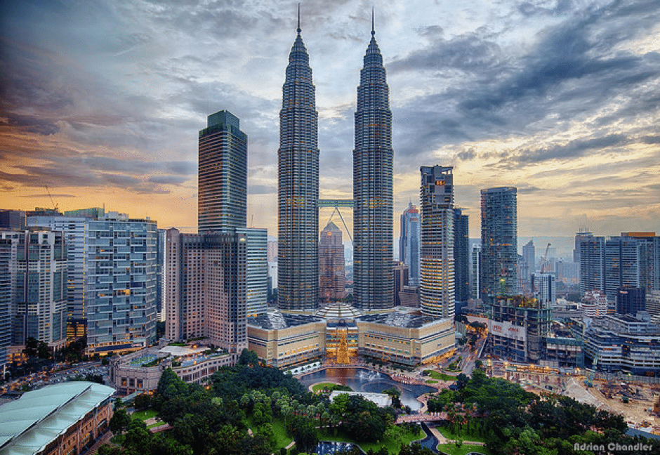 halal food restaurants near kl twin towers
