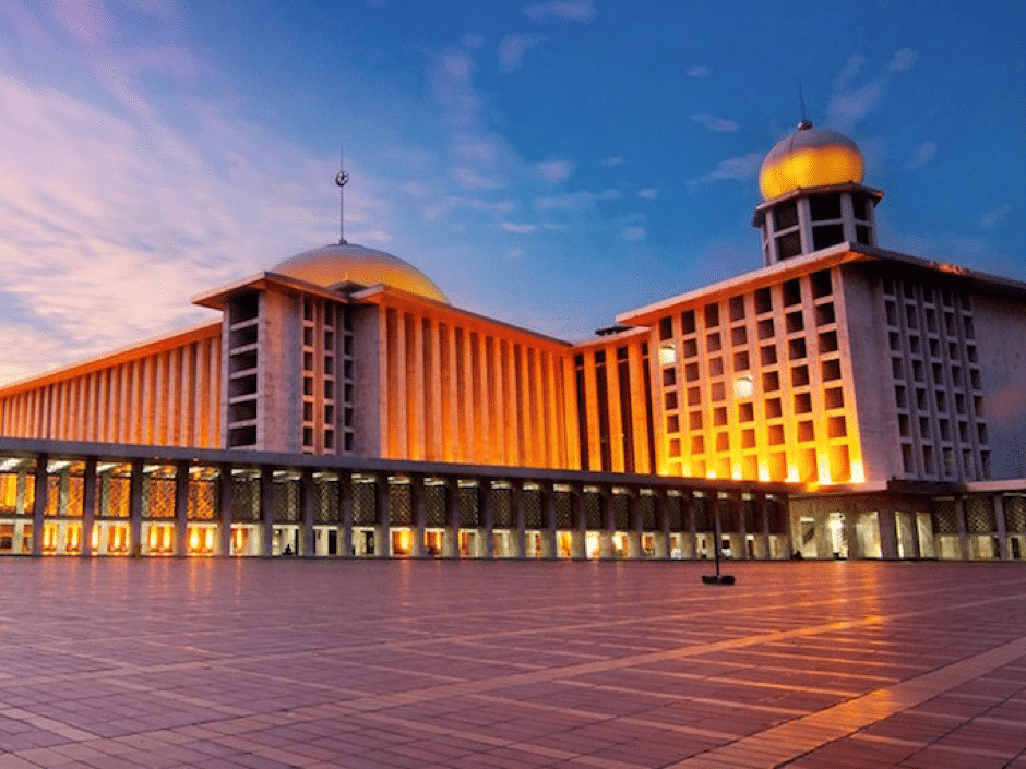 best mosques in jakarta indonesia