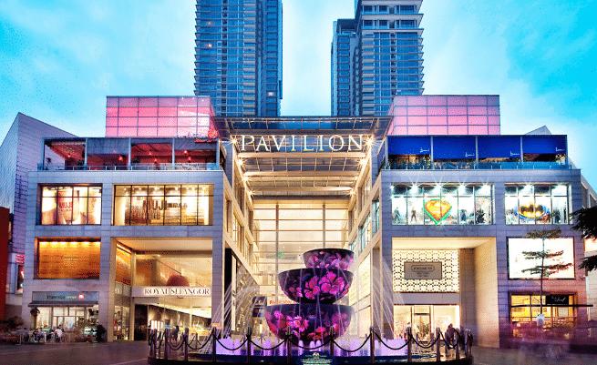 Top Halal shopping malls at Bukit Bintang KL