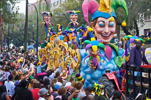 Travel guides for Muslim travellers - Mardi Gras festival