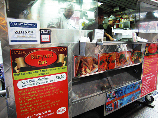 Best halal street food for Muslims in NYC