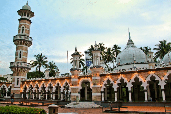Best mosques in Malaysia Kuala Lumpur itinerary 3 days 2 nights