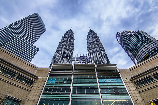 Famous halal friendly places at Petronas Twin Tower in KL Malaysia
