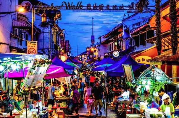 Things to experience in Malaysia as Muslims - Jonker Walk
