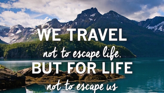 Inspiring halal friendly travel quote