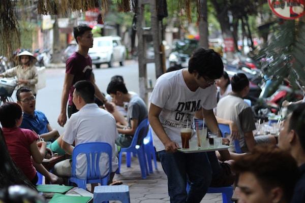 Halal street food stalls in Ho Chi Minh Vietnam