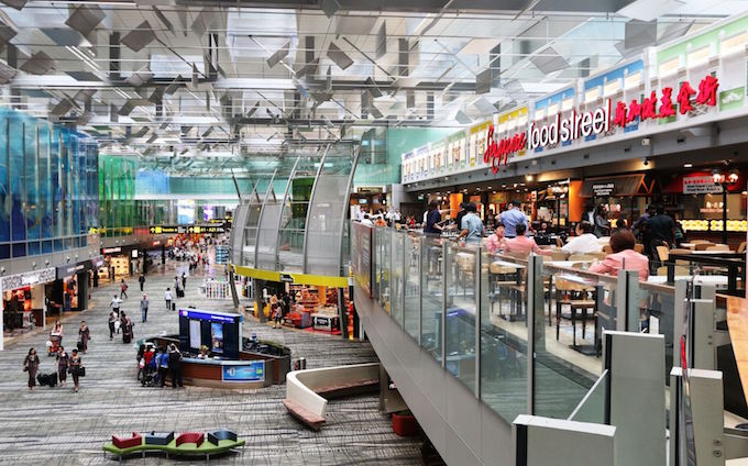 Top airports in the world Changi Airport
