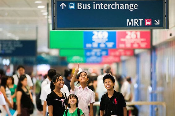 Things you need to know about public transport MRT Singapore