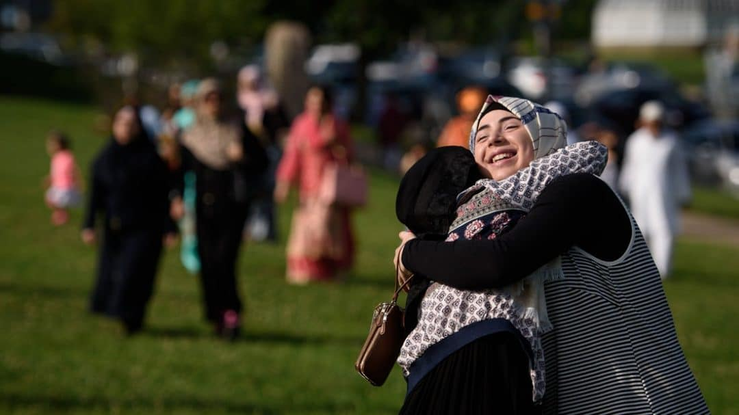 eid around the world Muslims in america