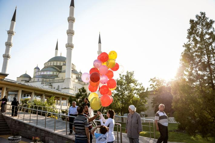 celebrating eid in ankara turkey