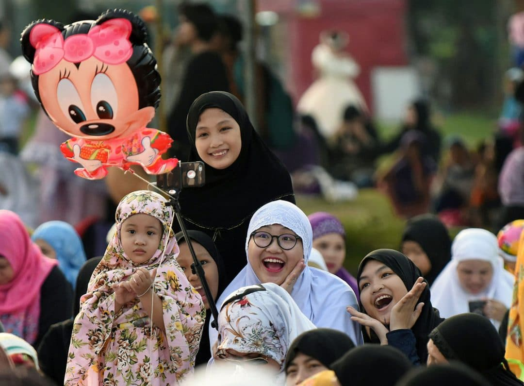 muslims in the philippines celebrating eid