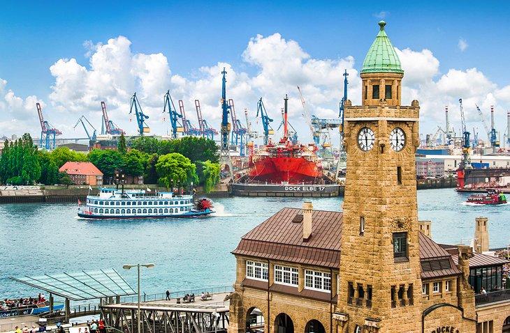muslim friendly destinations for summer - hamburg port germany