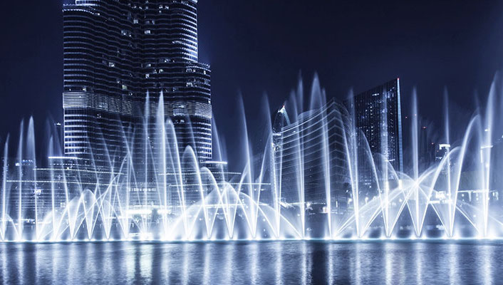 Things to see in Dubai - Dubai Fountain