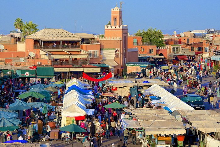 Famous places to visit in Marrakech - medina