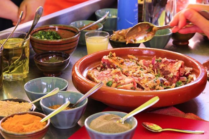 Halal food in marrakech amal restaurant