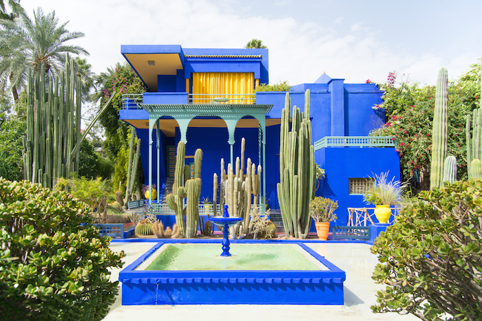 Muslim friendly jardin majorelle morocco
