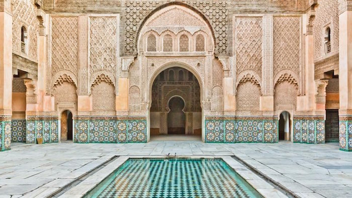 Ali ben youssef medresa in marrakech