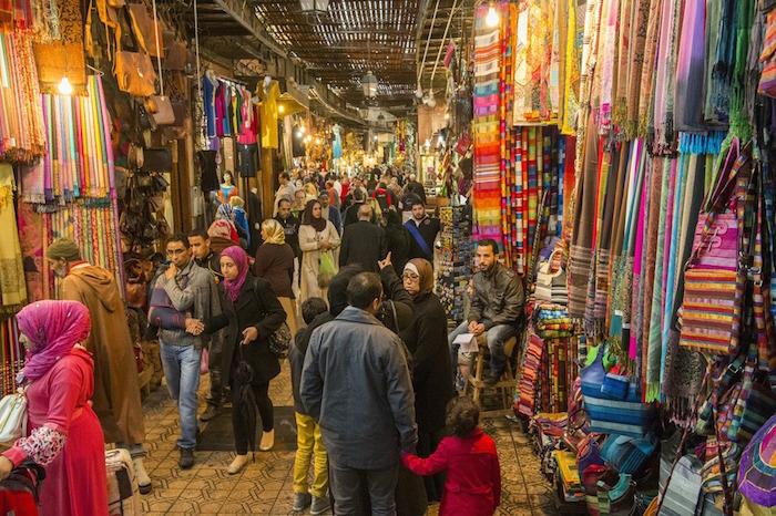 Must-visit place in marrakech souk market