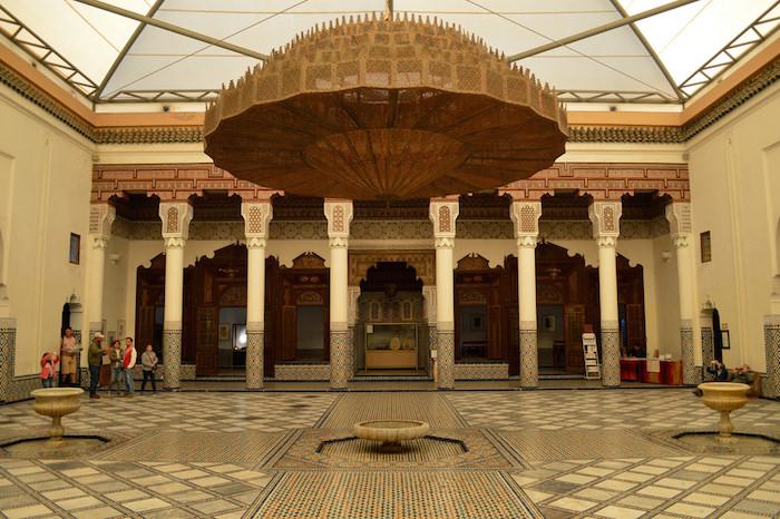 Musee de marrakech morocco