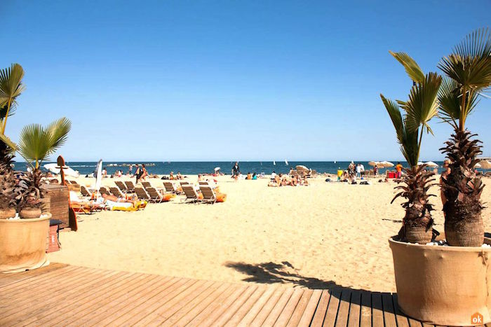 muslim friendly beach in barcelona