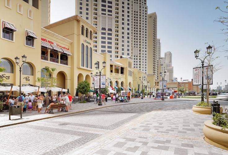 muslim friendly places - the walk jbr dubai