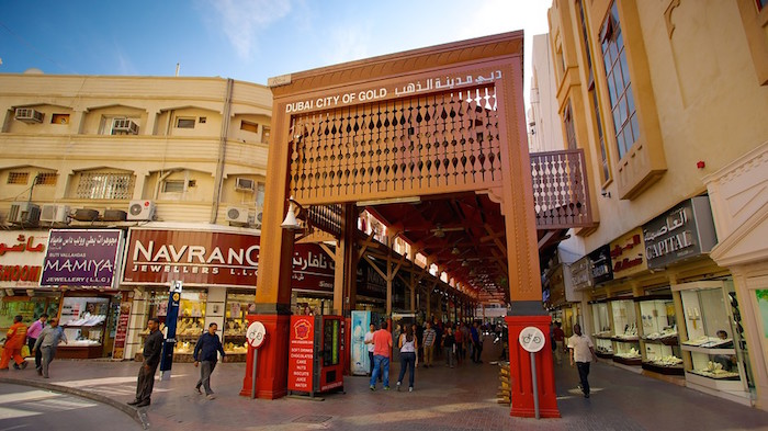 places to go to in dubai - deira gold souk