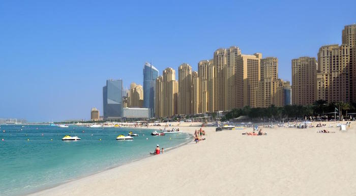 places to visit in Dubai - Jumeirah Beach