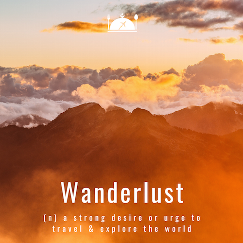 Inspirational travel quote - Wanderlust