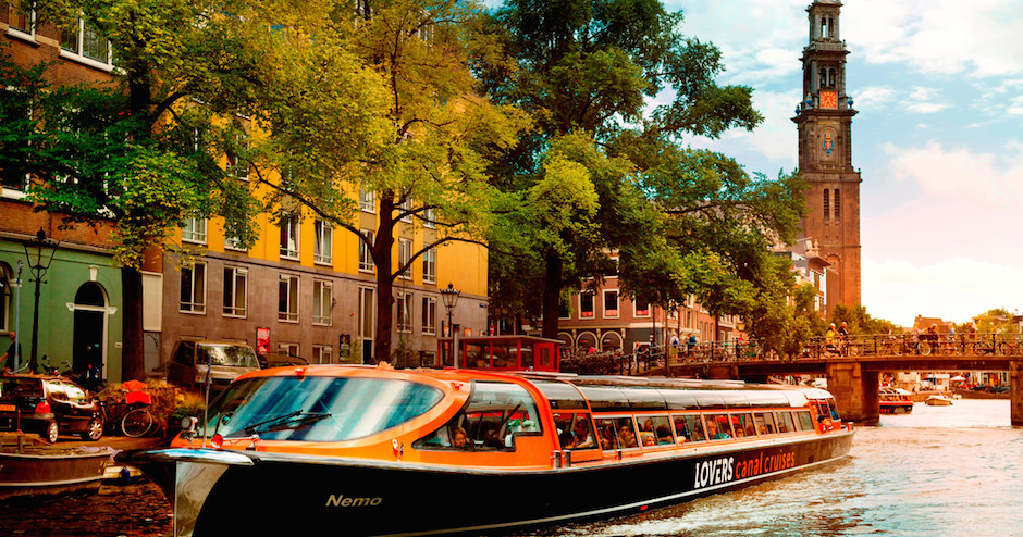 Muslim friendly Amsterdam canal cruise online package