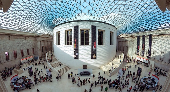 British Museum in London UK
