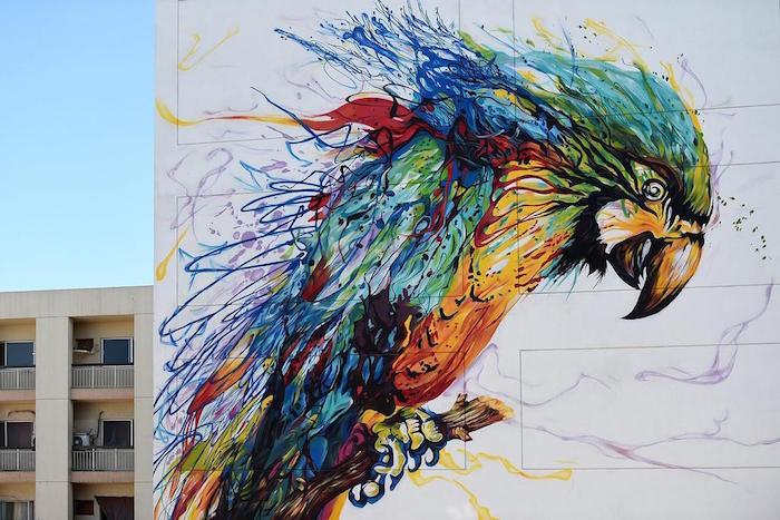 Dubai street art - The Dubai Wall