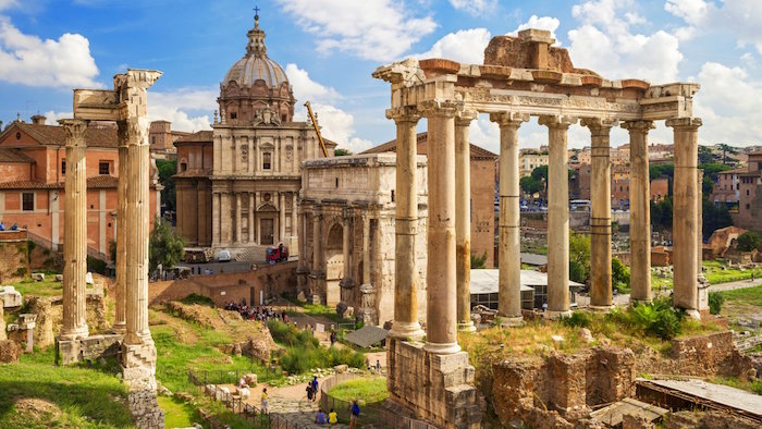 Muslim friendly places to go to in Rome - Roman Forum