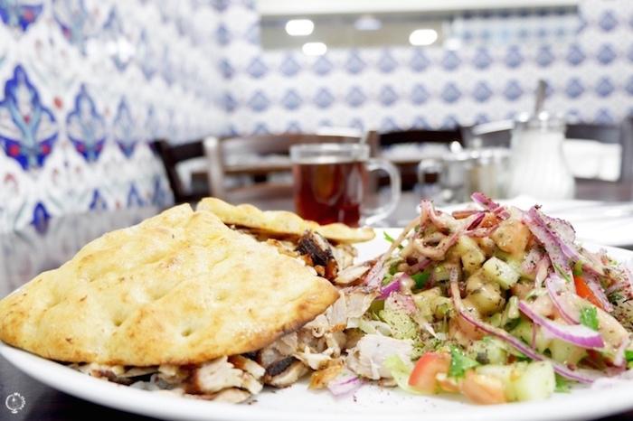 Halal food in Berlin Germany
