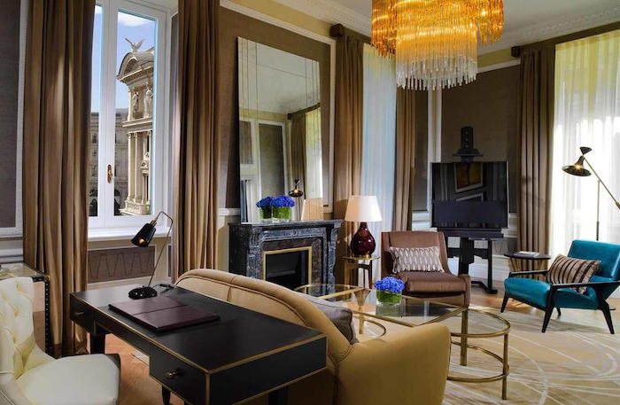 Halal friendly hotel in Rome - St Regis