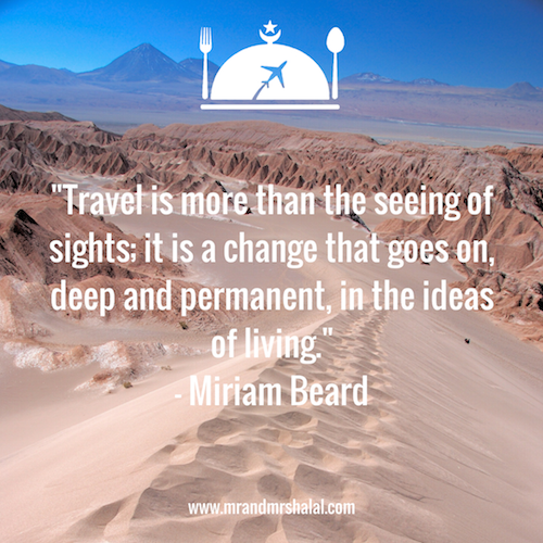 halal friendly inspirational travel quotes for muslim travellers