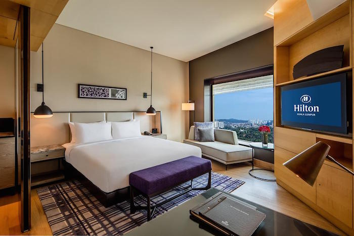 Hilton Hotel - Top five stars hotel in KL