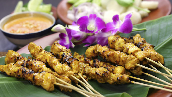 Halal foods in Malaysia - Satay