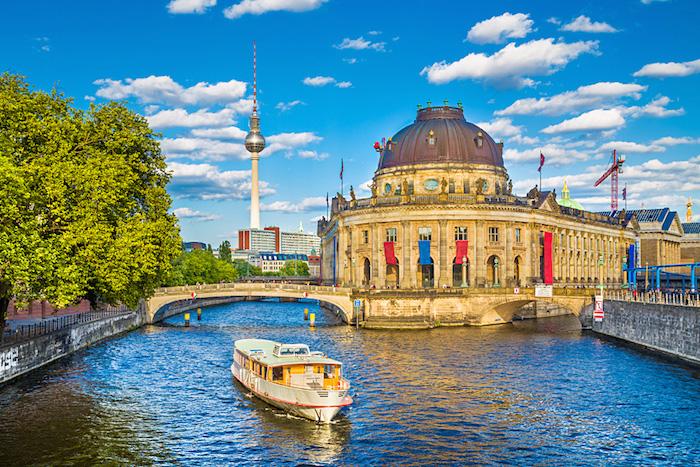 Museum Island in Berlin Germany