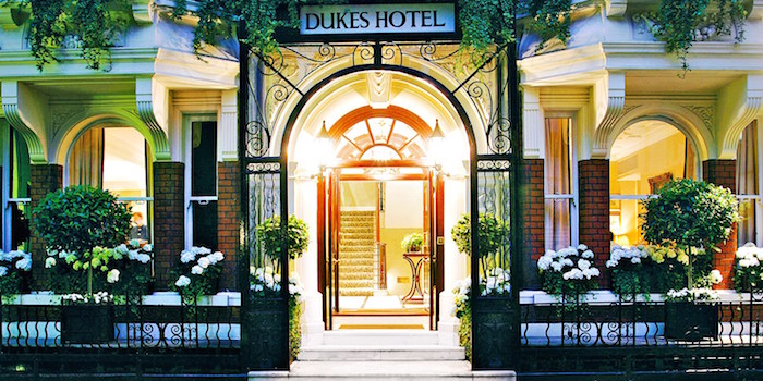 Muslim friendly hotels in london uk - dukes hotel
