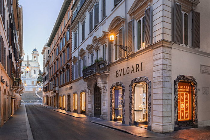 Best places to shop in Rome - Via Condotti