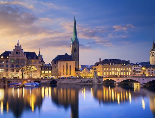 Muslim travel guide to Zurich