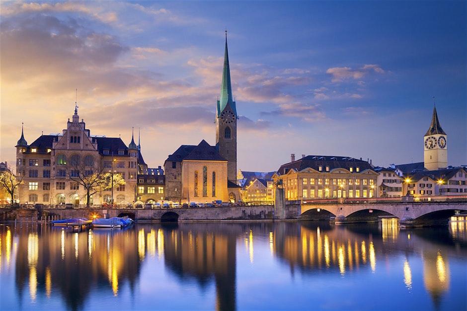 Muslim travel guide to Zurich