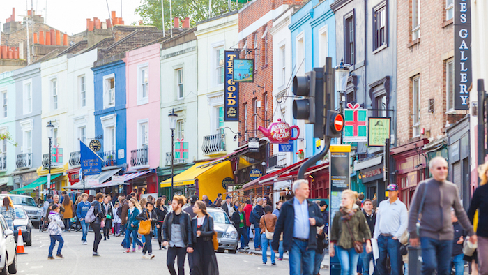 Portobello Road Market - Famous markets in London