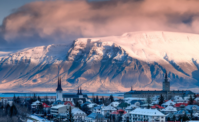 Safest cities for Muslim women travellers - Reykjavik Iceland