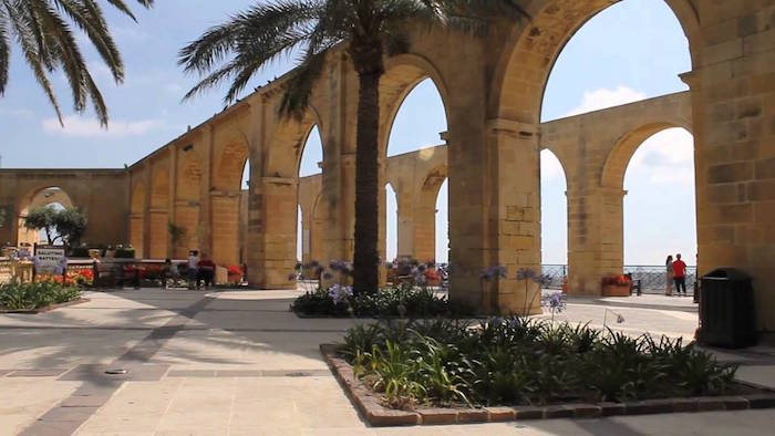 Top Muslim friendly attractions in Malta - Barrakka Garden
