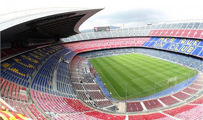Camp Nou experience tour - FC Barcelona stadium